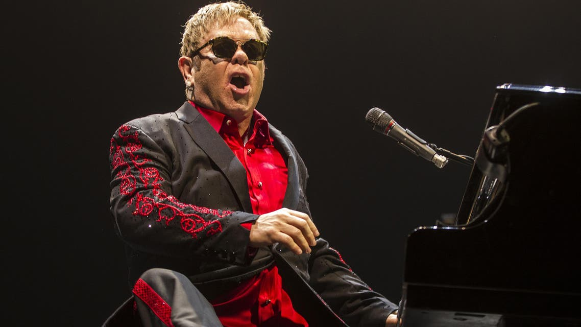 While Broadway is notoriously tough terrain even for famous names, Elton John has a proven record of triumph with musicals. (AFP)