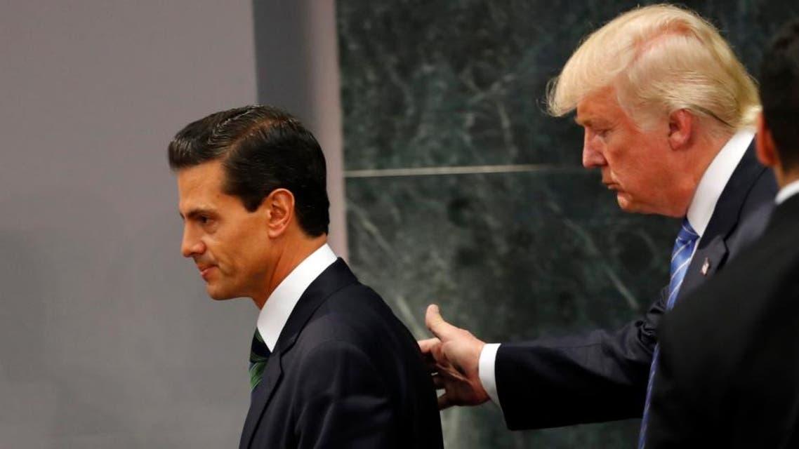 ترمب ورئيس المكسيك