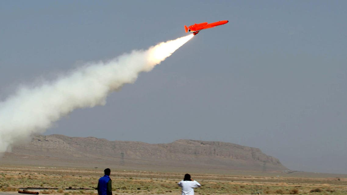 The aircraft was at a mobile launching platform, intended to target Yemeni forces participating in the liberation of Mokha city. (File photo: AFP)