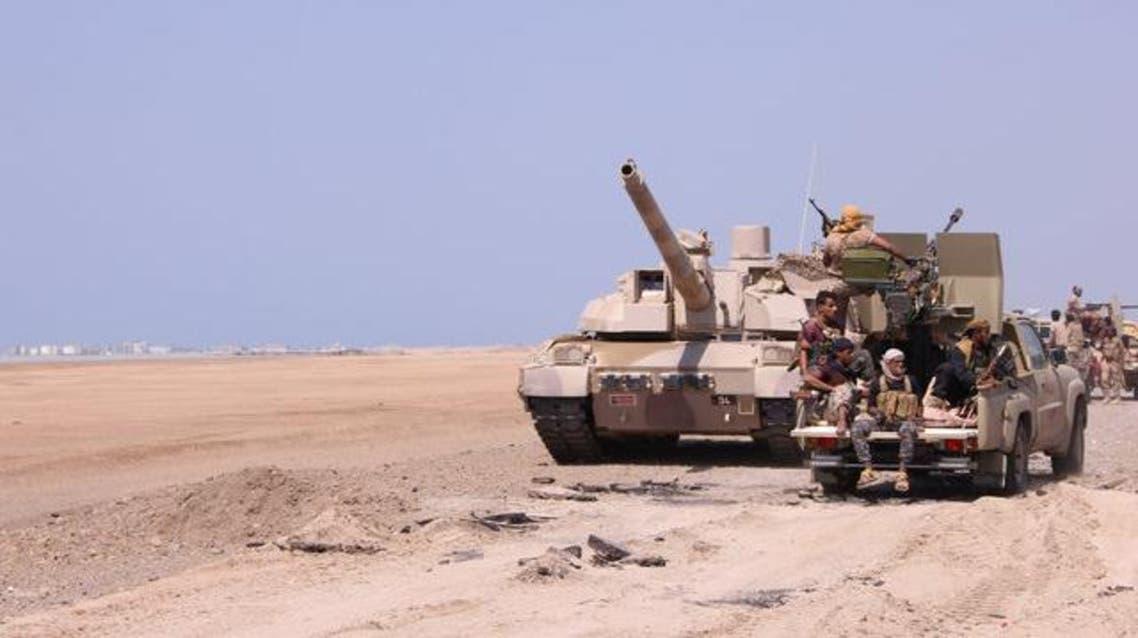 الجيش اليمني في المخا