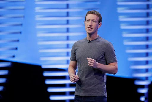 Facebook CEO Mark Zuckerberg also blasted Trump's executive orders on immigration. (AP)