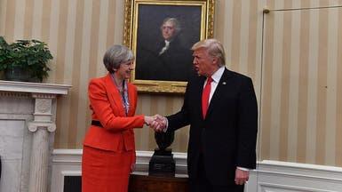 """بريطانيا """"لا توافق"""" على سياسة ترمب بشأن الهجرة"""
