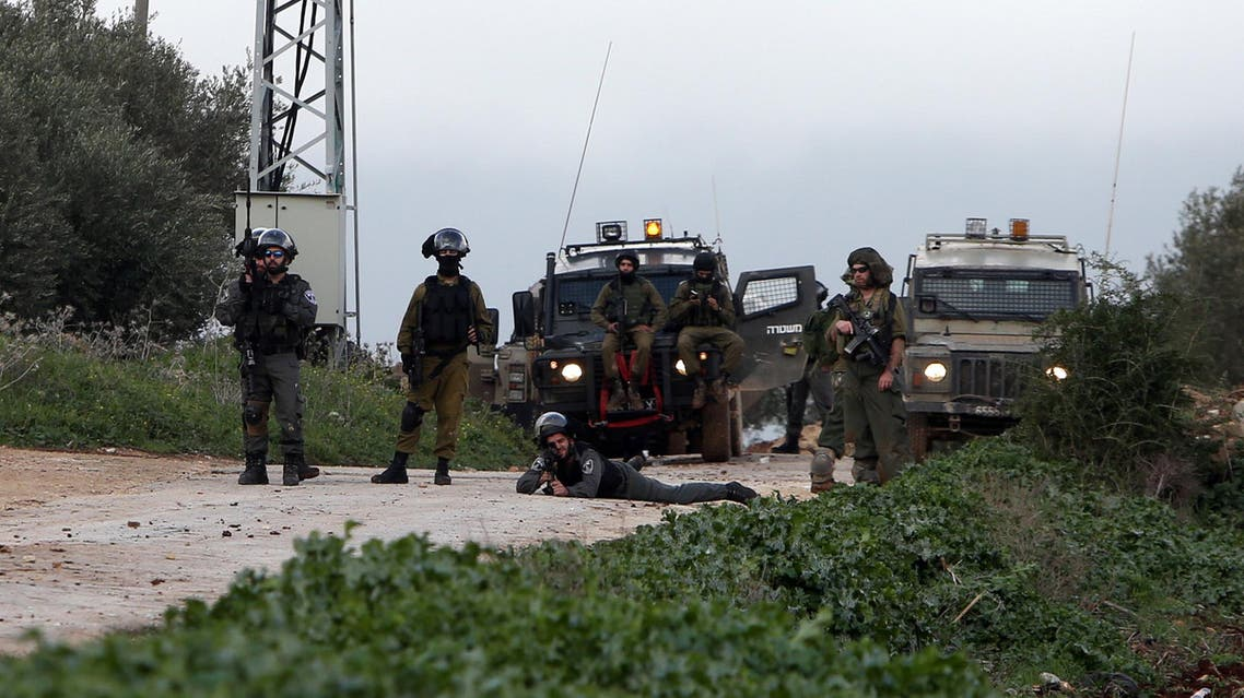 الجيش الإسرائيلي في قباطية في جنين في الضفة