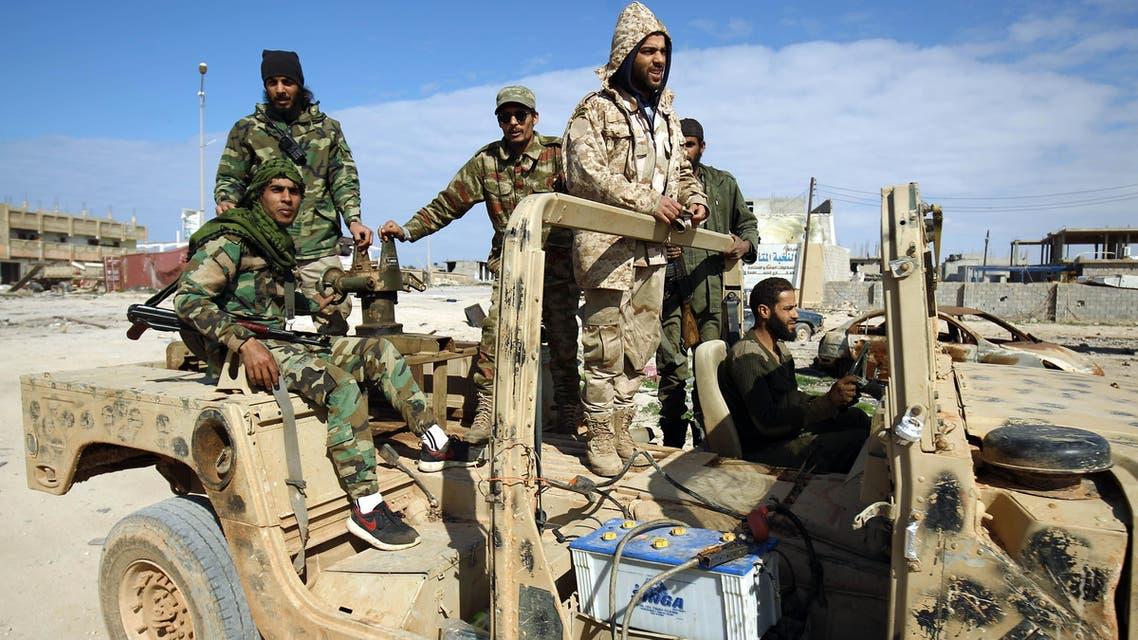 قوات تابعة لخليفة حفتر
