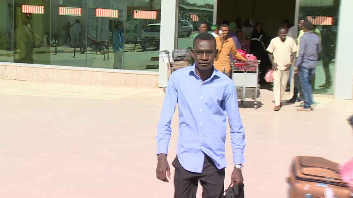 سوداني سفر أميركا
