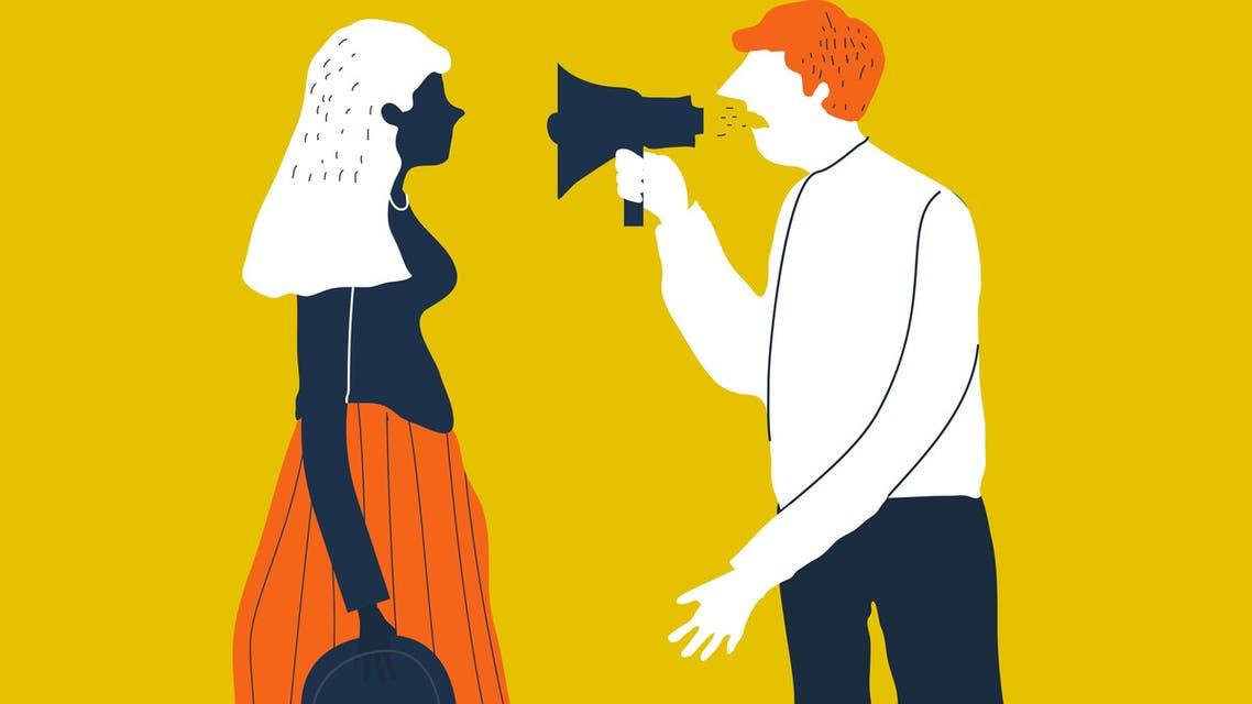 Verbal divorce (Shutterstock)