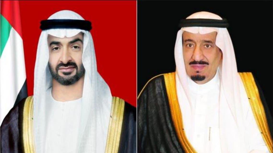 الملك سلمان و محمد بن زايد