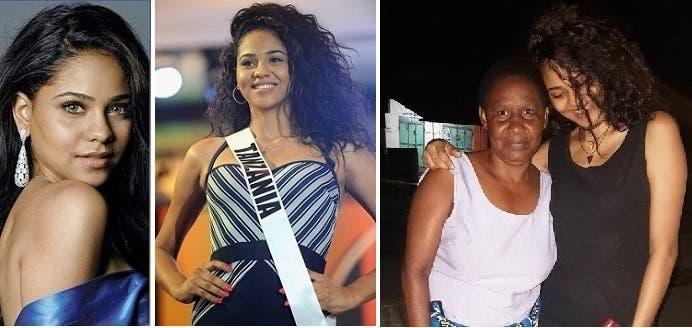 نشرت صورتها مع جدتها، أم والدتها التنزانية، في حسابها الفيسبوكي من دون أن تسميها