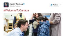 'Welcome to Canada,' Trudeau tells refugees
