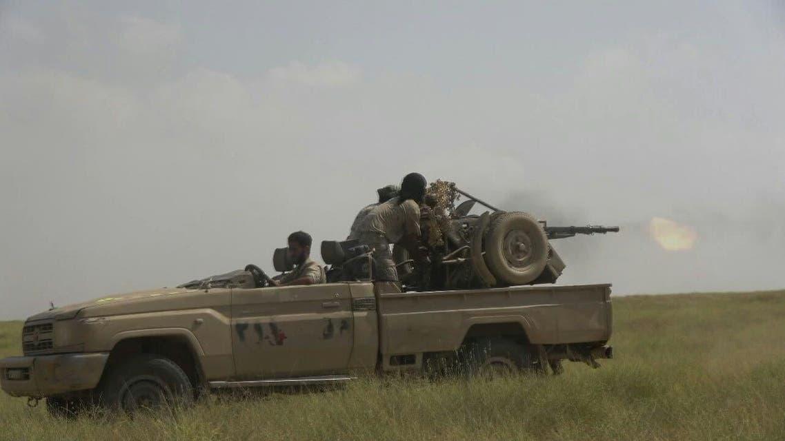 رماية من قبل الجيش اليمني
