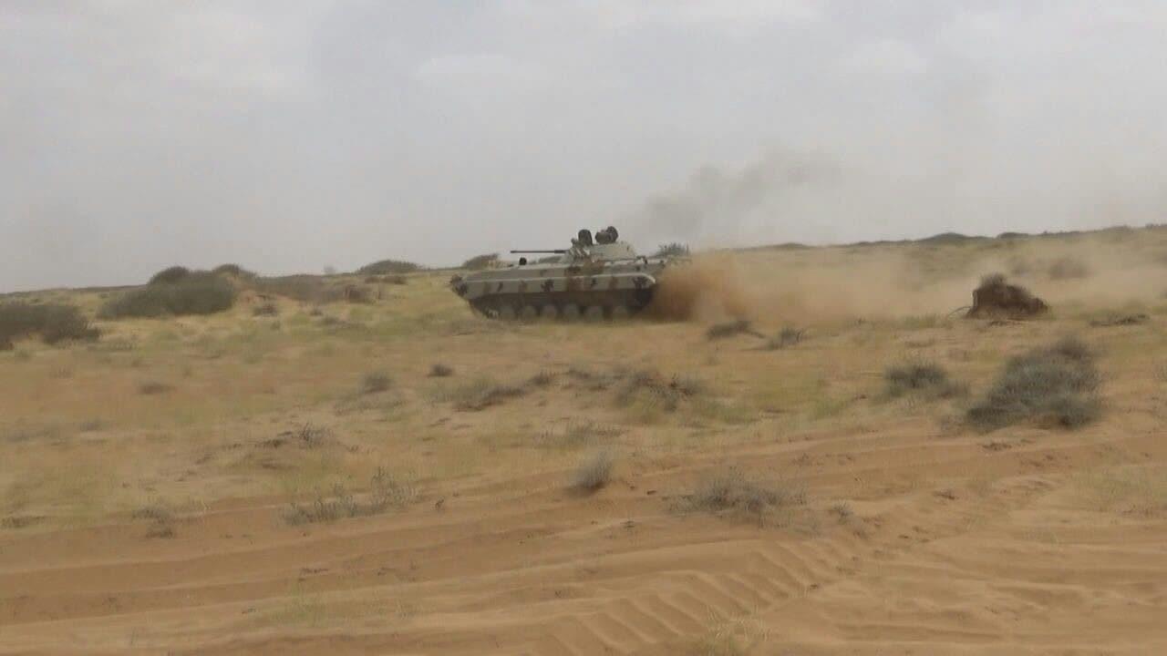 دبابة تابعة للتحالف