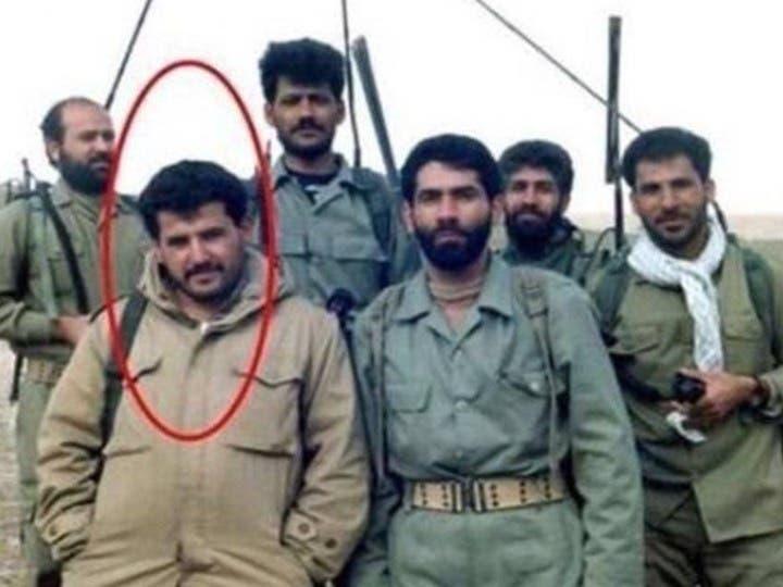 قاسم الأعرجي مع قوات الحرس الثوري في إيران