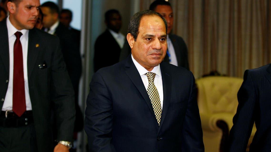 الرئيس المصري عبد الفتاح السيسي 3
