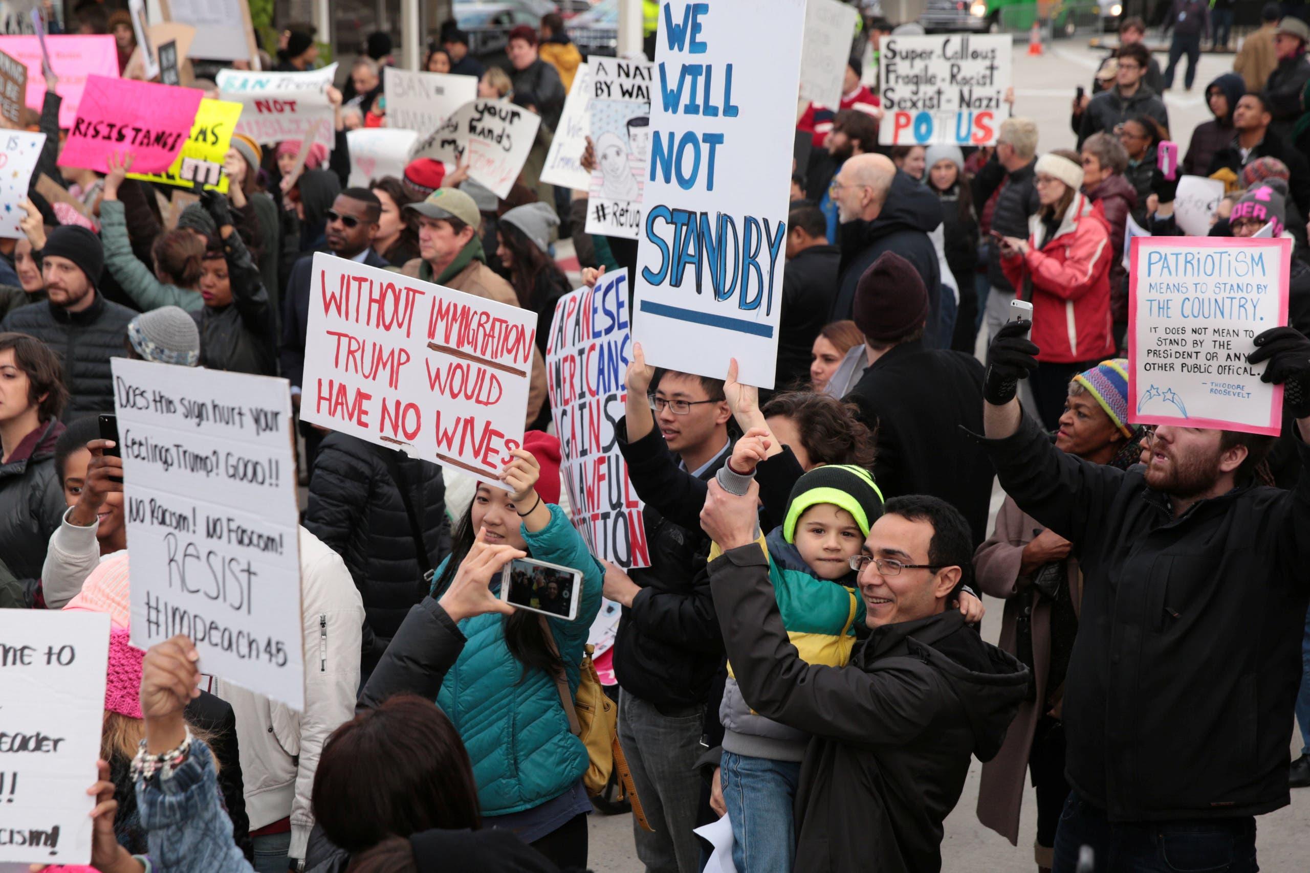 من احتجاجات جيورجيا