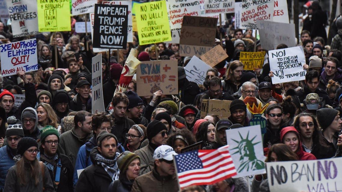 احتجاجات رئيسية - نيويورك 3