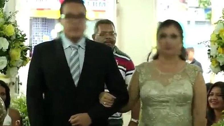 A Shocking Video That Is Being Widely Shared Online Shows Of Hitman Shooting Guests At Wedding In Brazil Screengrab