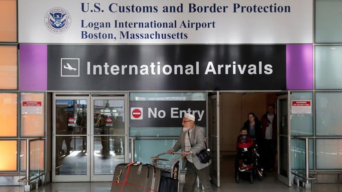 International travelers arrive after U.S. President Donald Trump's executive order travel ban at Logan Airport in Boston, Massachusetts, U.S. January 30, 2017. (Reuters)