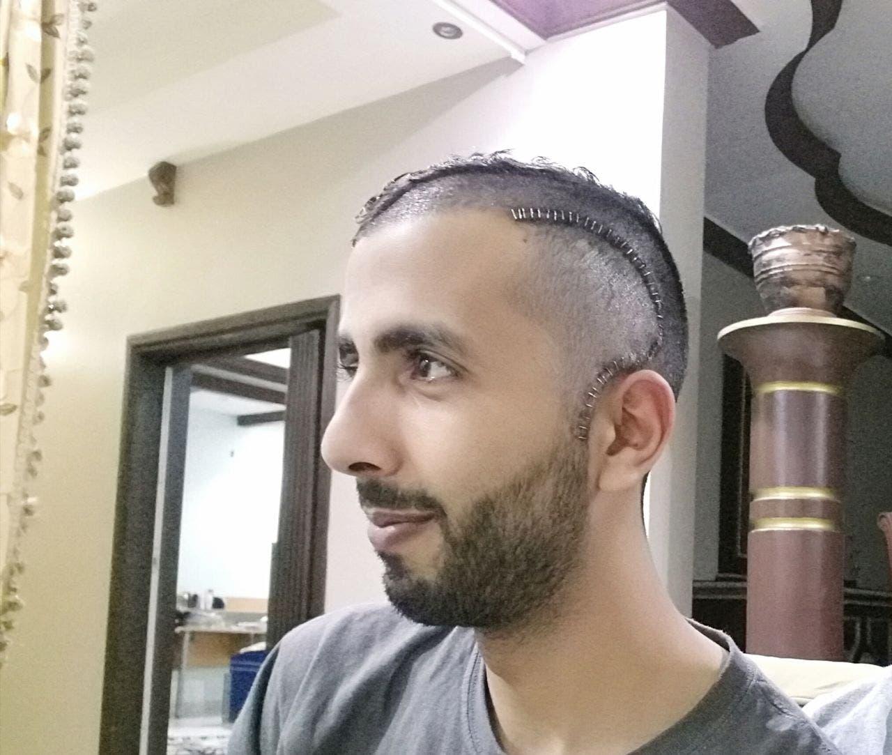 Saudi student Mohammad Zaid Al-Fadheel (Al Arabiya news)