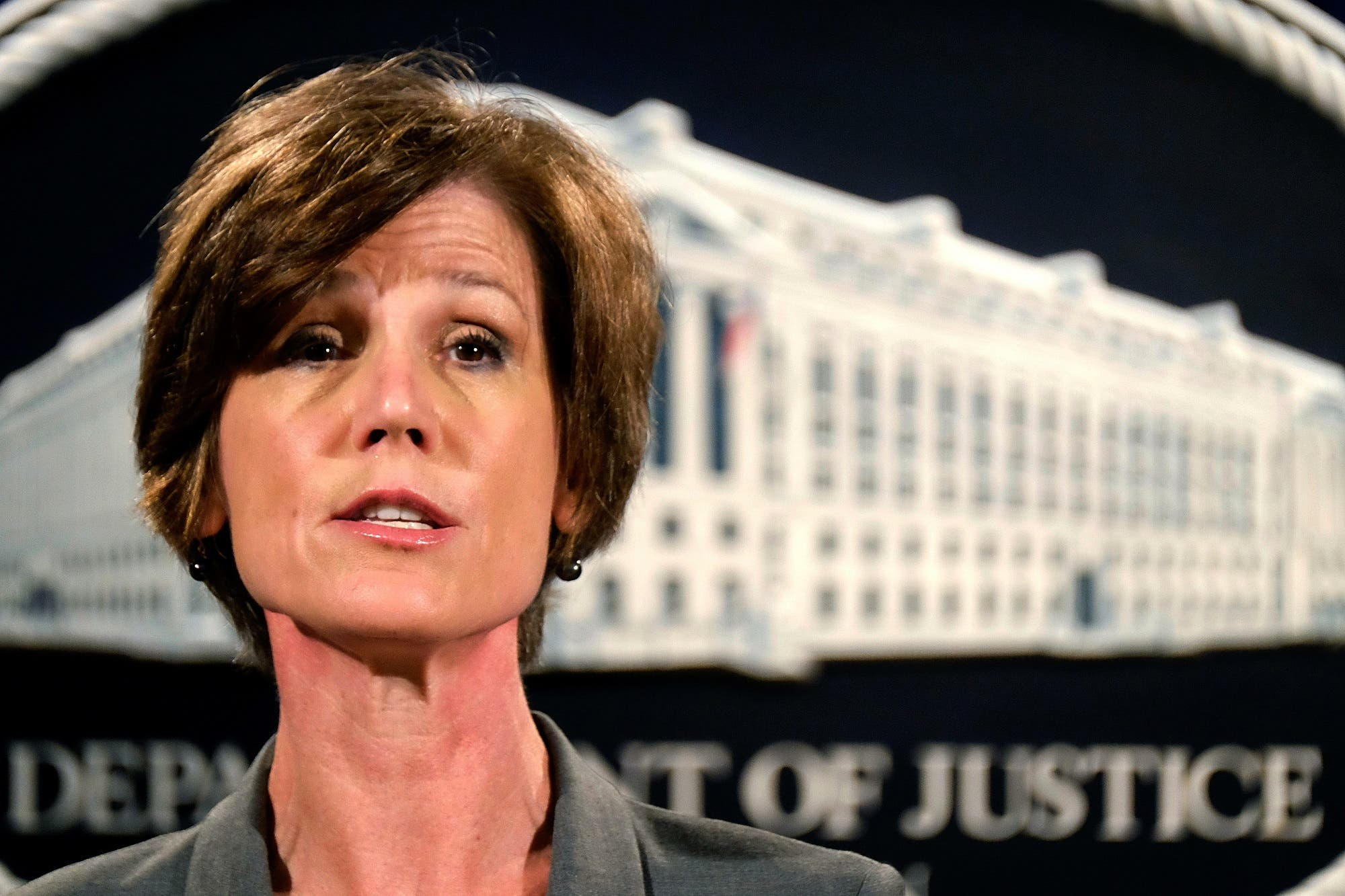 Yates on Monday told Justice Department lawyers in a letter that they would not defend in court Trump's directive. (AP)