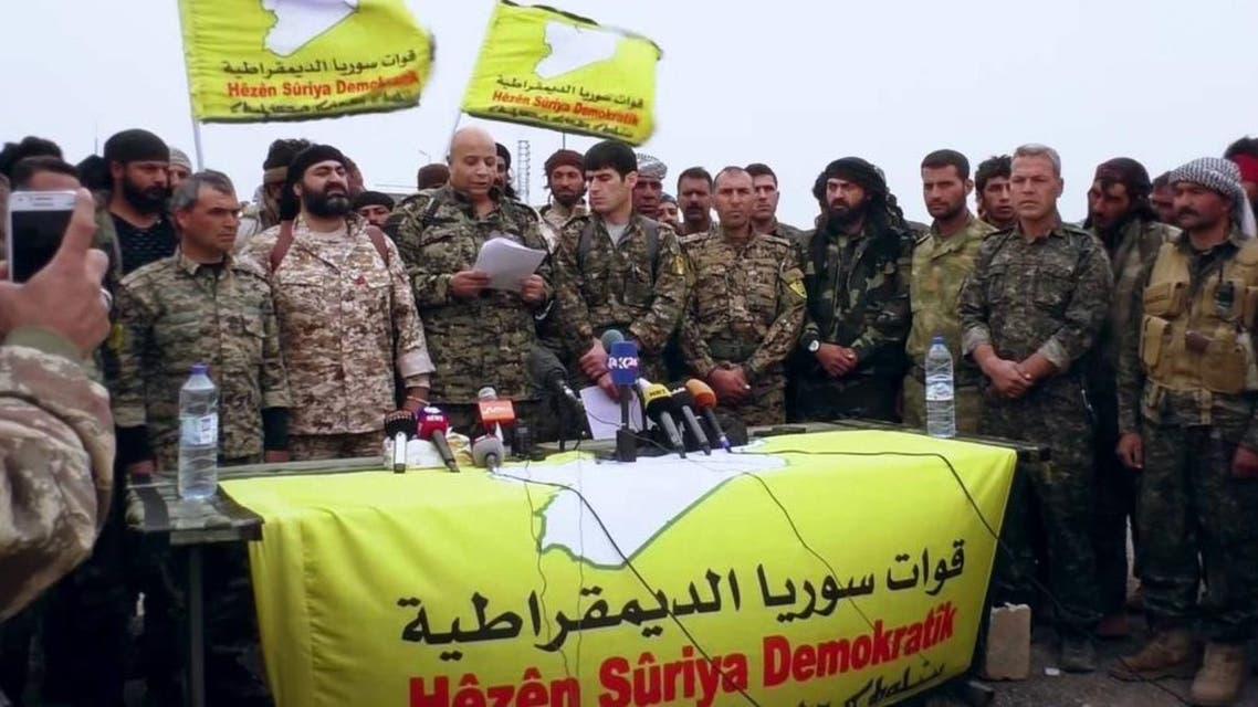 قوات سوريا الديموقراطية