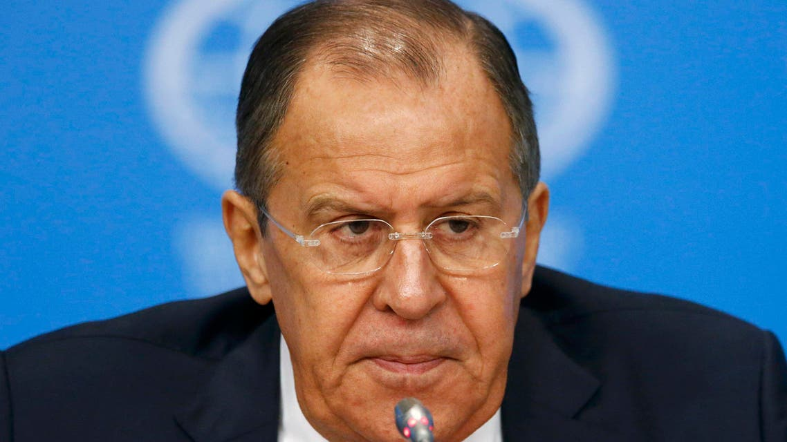Russian Foreign Minister Sergei Lavrov speaks during a news conference, dedicated to Russia's foreign policy in 2016, in Moscow, Russia, January 17, 2017