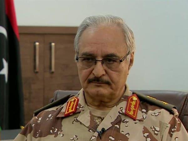 بريطانيا: يجب إشراك خليفة حفتر بالحكومة الليبية