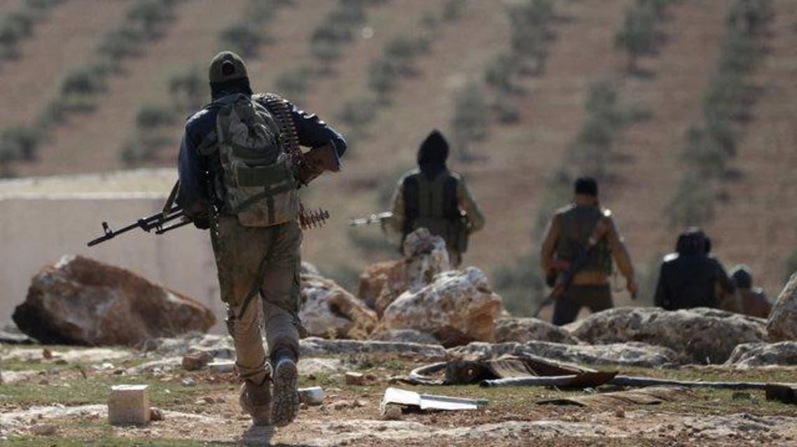 عناصر من المعارضة السورية المسلحة