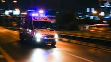 Turkish policeman tries to kill self, causes panic
