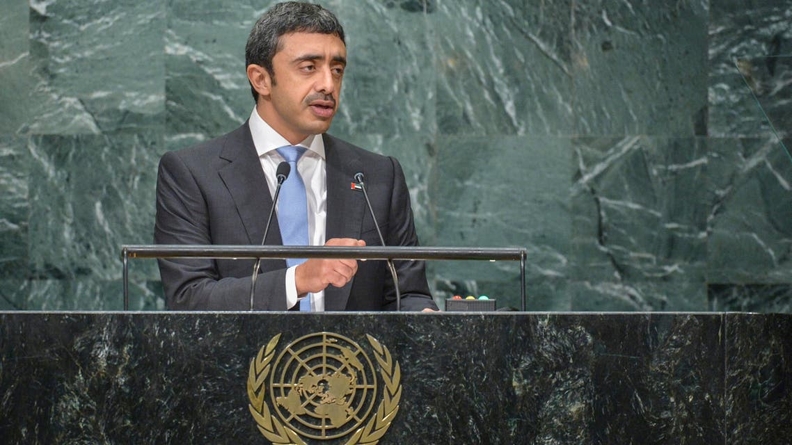 President Donald Trump's travel ban imposed on citizens of seven mainly Muslim countries was a sovereign decision for the US and not directed at any religion, UAE Foreign Minister Sheikh Abdallah bin Zayed said. (AFP)