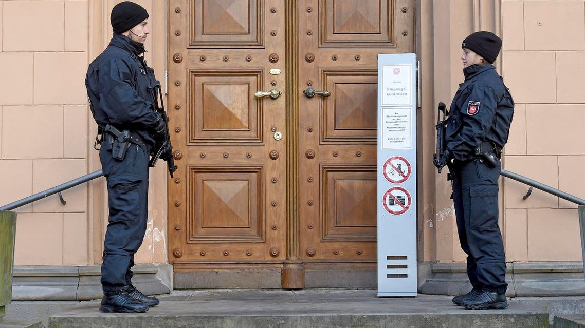 """Police also carried out searches, but there has been """"no indication of concrete plans to carry out an attack in Germany"""", according to the Bild daily's website (File Photo: Holger Hollemann/dpa via AP)"""