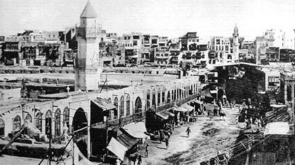Rare Image of Shafi'i mosque 150 years ago