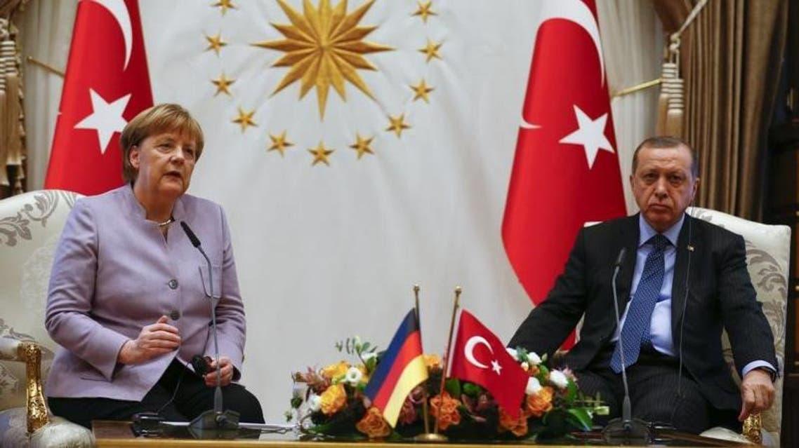 ميركل أردوغان