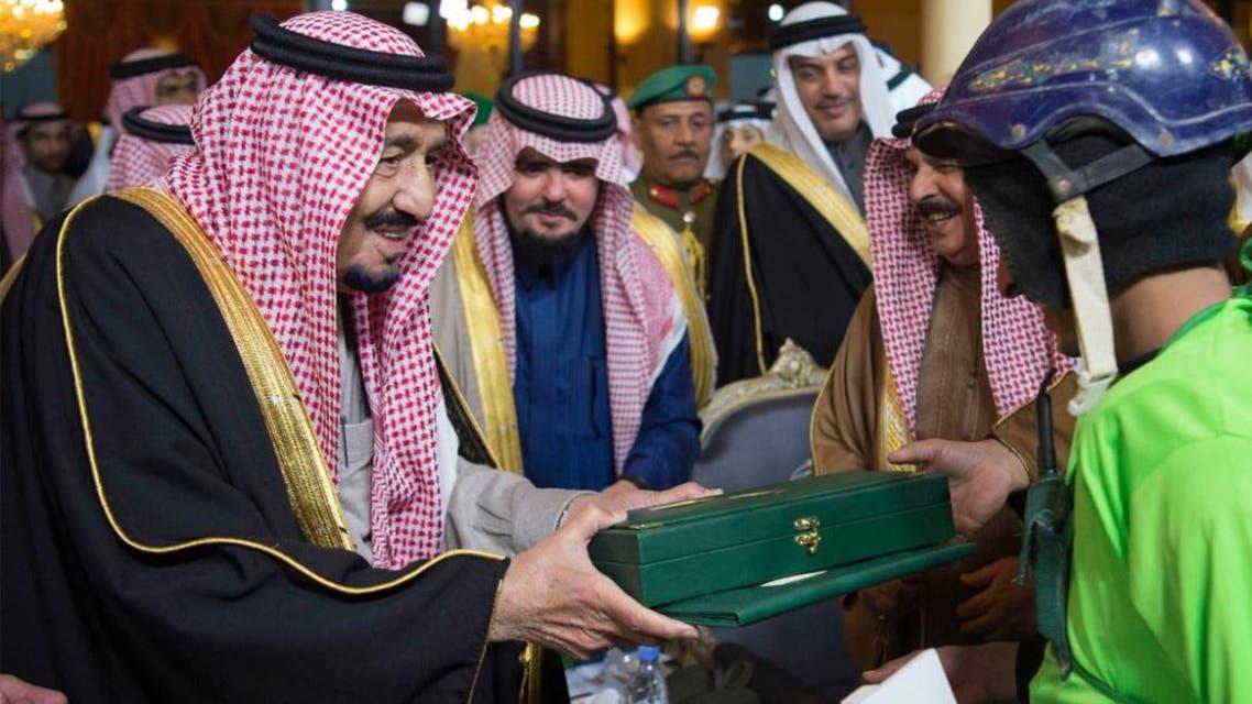 spaz Saudi king