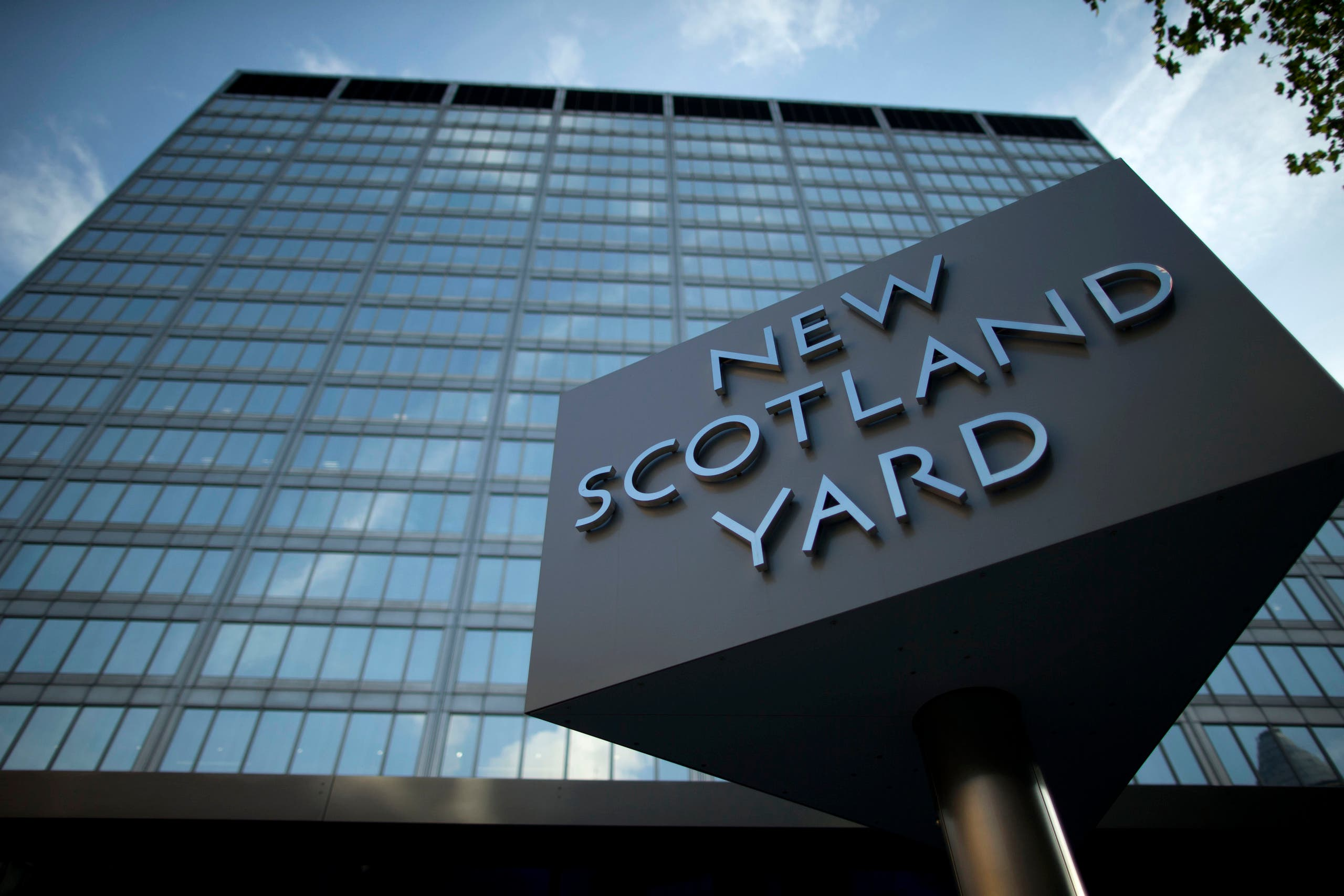 Abu Dhabi Financial Group acquired New Scotland Yard,  the former headquarters building of London's Metropolitan Police force in central London, for $600 million. (AP)