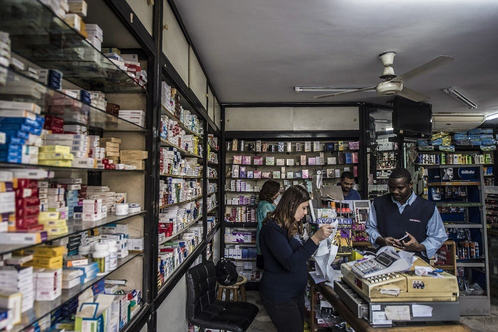 President Abdel Fattah al-Sisi and the central bank have come under rising criticism amid an acute dollar crunch which has led to a rise in prices including of medicines. (AFP)