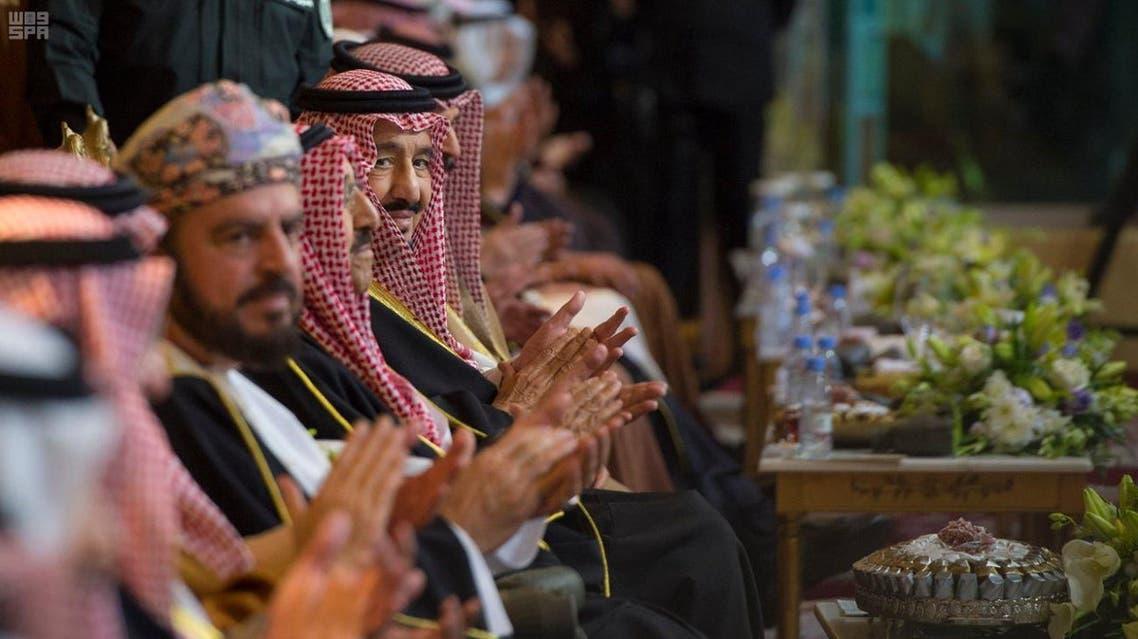 بالصور.. الملك سلمان يرعى حفل افتتاح الجنادرية 31