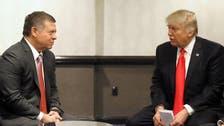 Trump discusses Syria safe zones with Jordan king