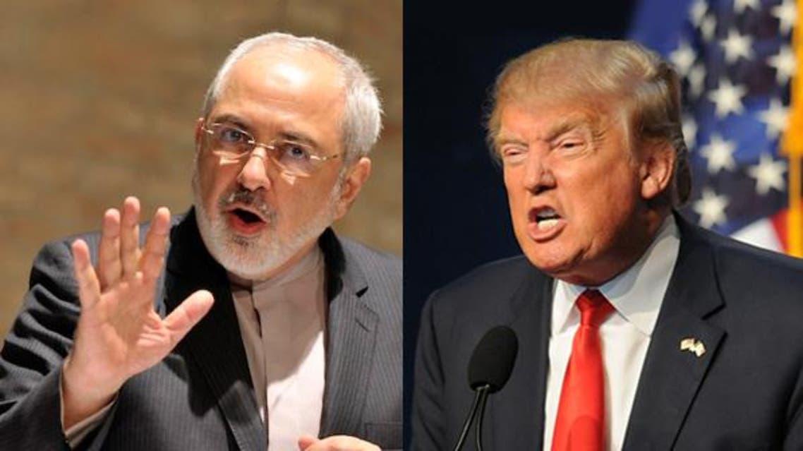 دونالد ترمب و محمد جواد ظريف غضب عصبية تهديد