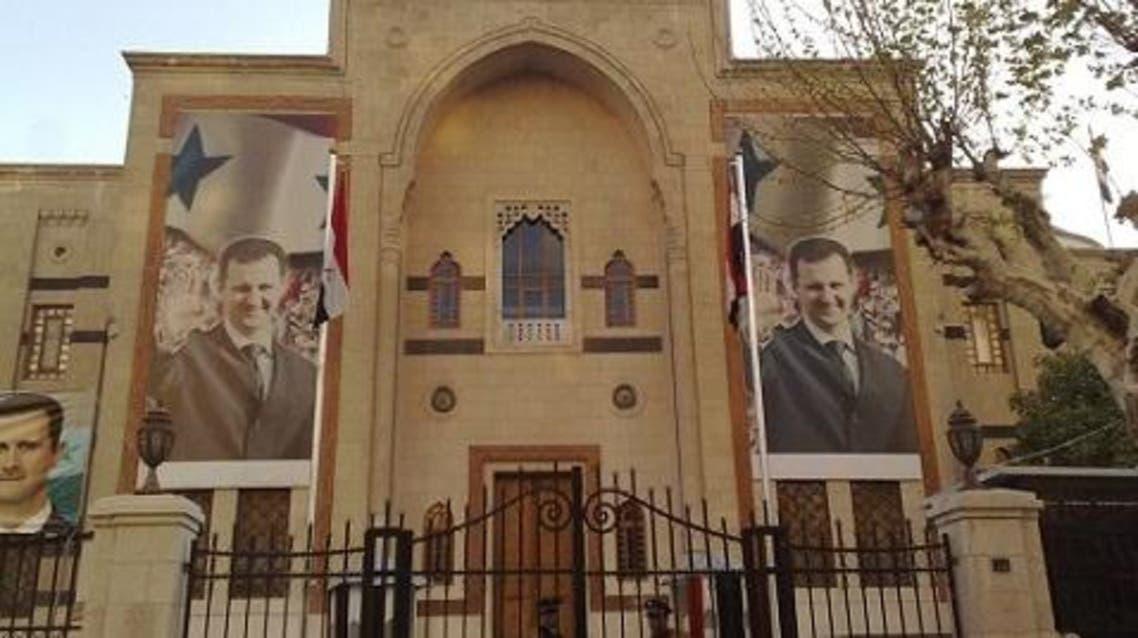 مبنى مجلس الشعب في العاصمة السورية دمشق