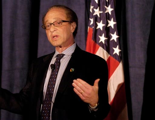 Co-founder of Singularity University Dr. Ray Kurzweil. Singularity University is backed by Google, operates on NASA's Silicon Valley campus and gets its name from futurist and Kurzweil's favorite term for our technologically enhanced future. (AP)