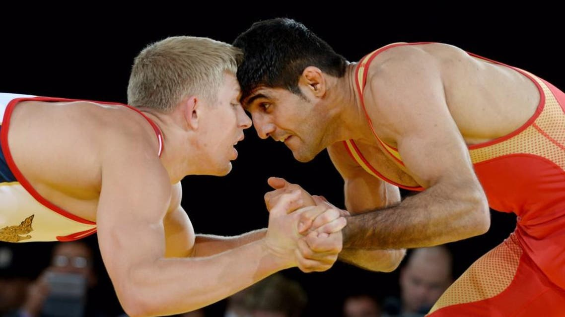 wrestling iran us