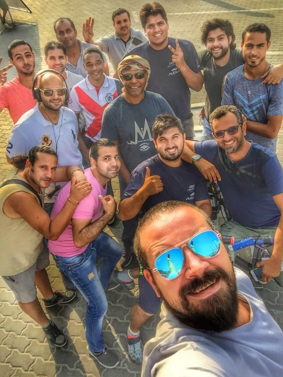 محمد دحام الشمري وفريقة الفني