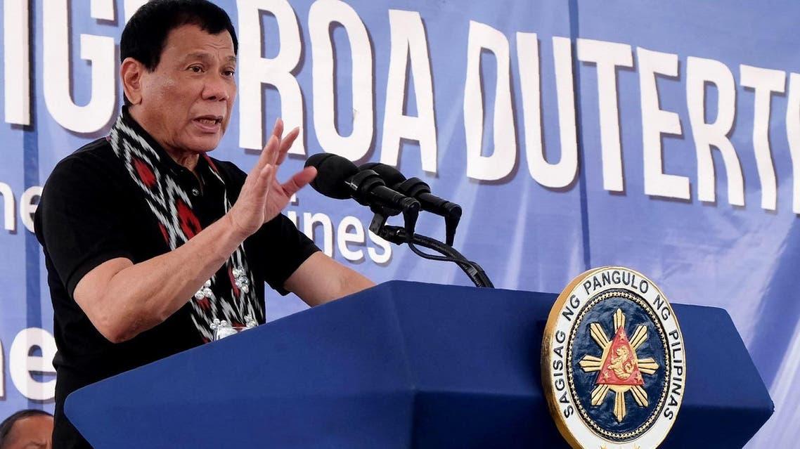 Rodrigo Duterte (AFP)