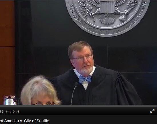 القاضي الفيدرالي جيمس روبارت