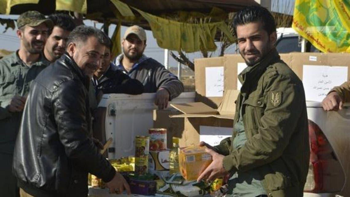 هدايا حسن نصرالله إلى ميليشيات النجباء التي شاركته بقتل أهل حلب الشرقية وتهجيرهم قسرياً