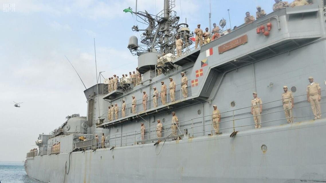 Saudi warship reaches Jeddah base following Houthi attack