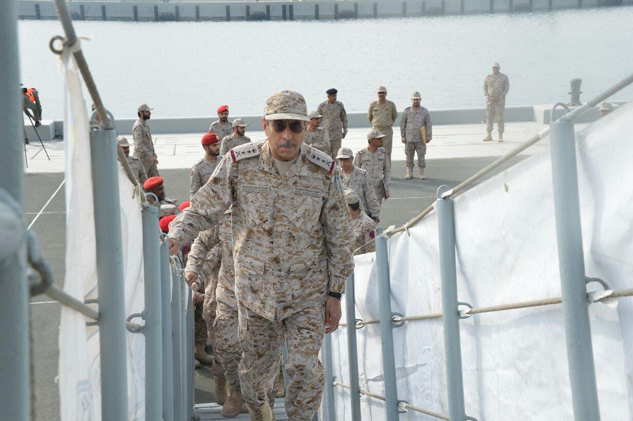 الفرقاطة وصلت إلى ميناء جدة