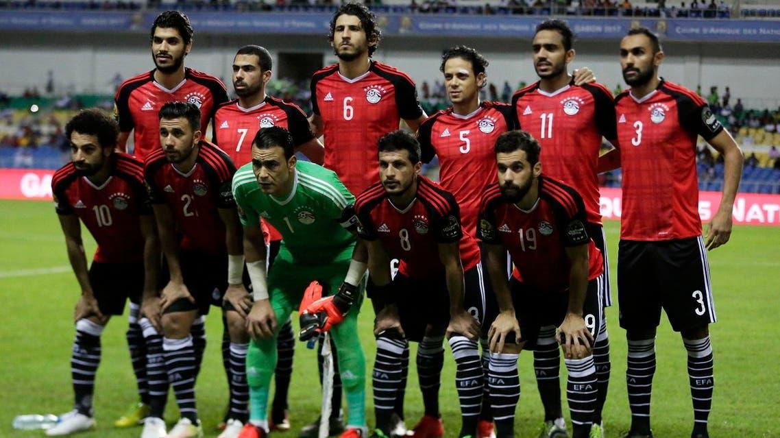 Egyptian national team (AP)