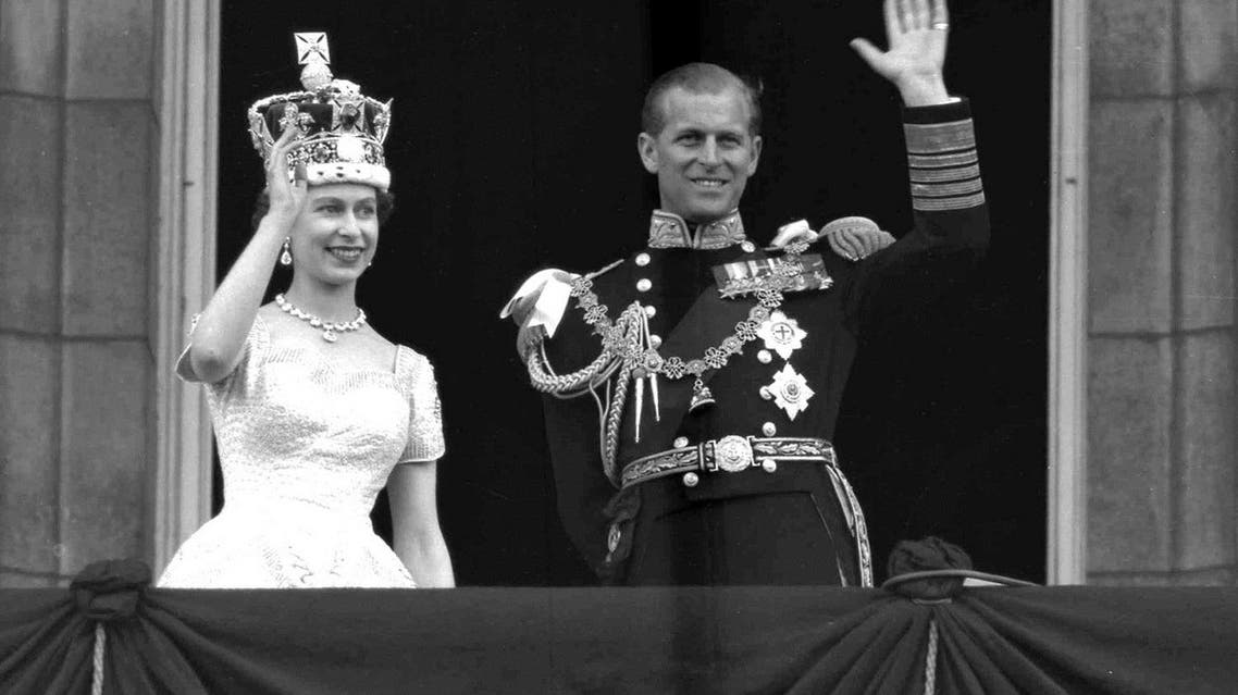 This is a June. 2, 1953 photo of Britain's Queen Elizabeth II and Prince Philip, Duke of Edinburgh, as they wave to supporters from the balcony at Buckingham Palace, following her coronation at Westminster Abbey. London – when she took to the throne (Photo: AP /Leslie Priest)