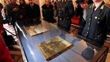 Stolen Van Gogh's on show in Italy